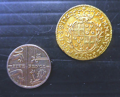 MALTA 1762 GOLD John the Baptist Very Good Condition SEE BELOW FP6801