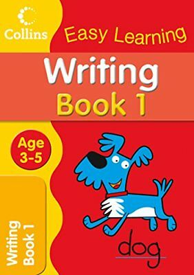 Writing Age 3-5: Book 1 (Collins Easy Learn... by Collins Easy Learnin Paperback