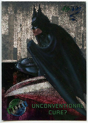 Batman Forever Metal #7 Silver Flasher Trade Card (C174)