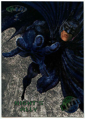 Batman Forever Metal #50 Silver Flasher Trade Card (C174)