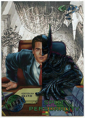 Batman Forever Metal #51 Silver Flasher Trade Card (C174)
