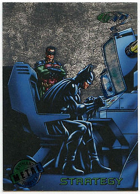 Batman Forever Metal #84 Silver Flasher Trade Card (C174)