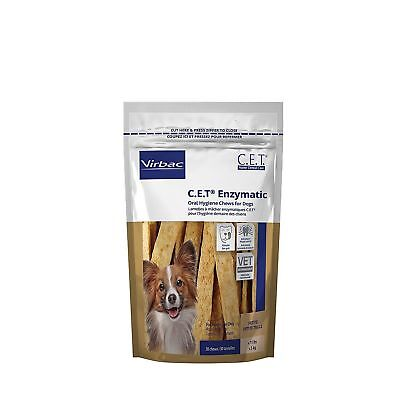CET  Enzymatic Oral Hygiene Chews for Petite Dogs Under 11 Pounds 30ct
