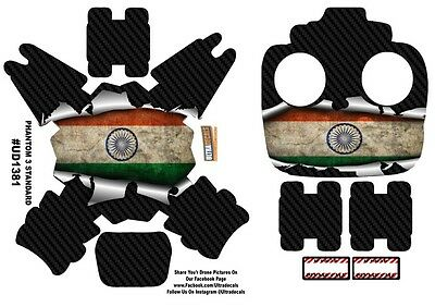 India Flag DJI Phantom 3 Standard Decal Skin Wrap Sticker