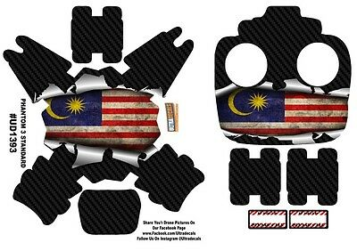 Malaysia Flag DJI Phantom 3 Standard Decal Skin Wrap Sticker