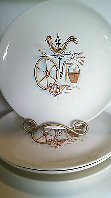 Set of 4 Weathervane Dinner Plates Taylor Smith Taylor