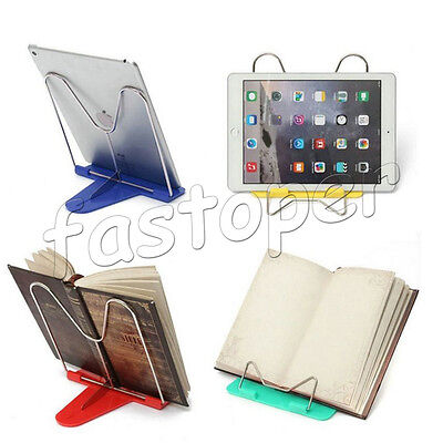 Recipe Tablet Document Cookbook Reading Book Stands Adjustable Foldable Portable
