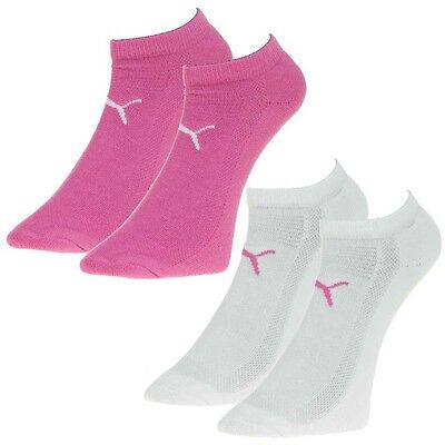 2 Pares Puma Performance Trainer SMU Deportes Golf Calcetines de Coolmax Mujer