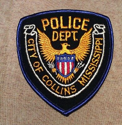 MS Collins Mississippi Police Patch