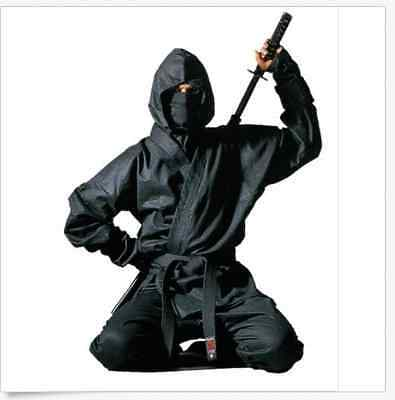 Ninja Uniform Martial Arts Ninjitsu Suit Samurai Stealth Urban Top Pants Full