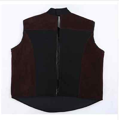 FENCING PROTECTION JACKET Sword Vest Training Competition Leather Body  Armor Pro