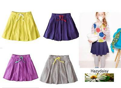 Mini Boden girls easy jersey skirt 4 colours 1 - 12 years new