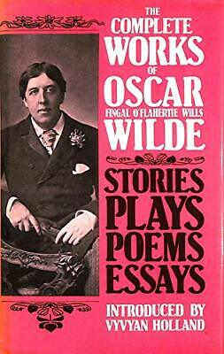 The Complete Works of Oscar Wilde by Wilde, Oscar Hardback Book The Cheap Fast