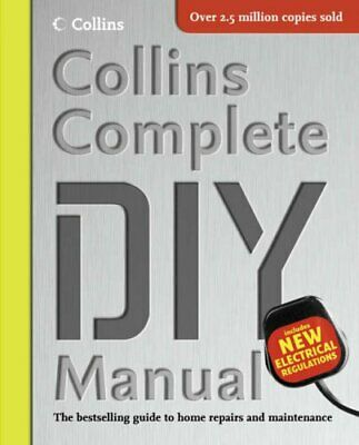 Collins Complete DIY Manual by Jackson, Albert Hardback Book The Cheap Fast Free