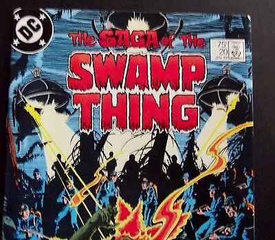 SWAMP THING 20...VF/NM+...1984...1st Alan Moore...High Grade Bargain!