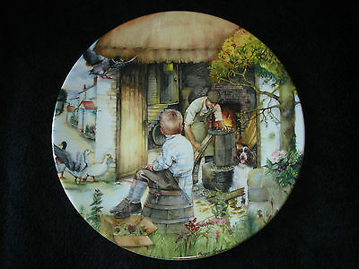 Royal Doulton - Old Country Crafts - The Cooper - Collector Plate