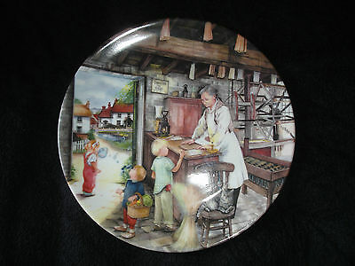 Royal Doulton - Old Country Crafts - The Candle Maker - Collector Plate