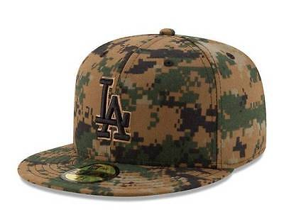 new style 2b083 dfc2e Official MLB 2016 Los Angeles Dodgers Memorial Day New Era 59FIFTY Fitted  Hat