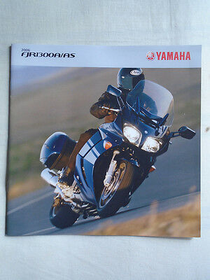 Yamaha FJR 1300A/AS motorcycle brochure 2006 UK market