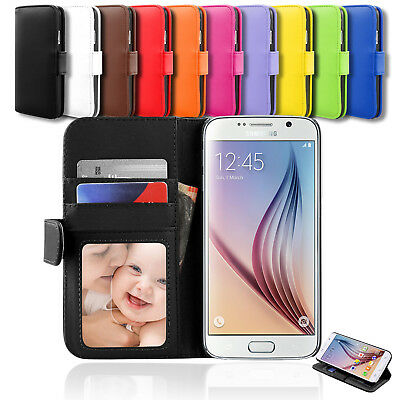 Premium Flip Wallet Leather Card Case Cover For Samsung Galaxy S7 S7   Edge
