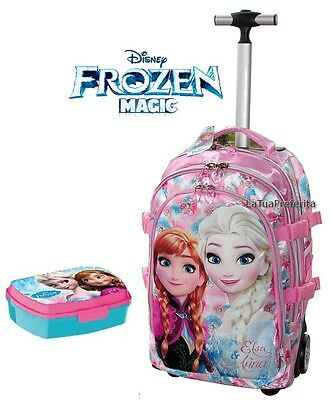 Disney Frozen Magic zaino Trolley con ruote scuola GRANDE bambina
