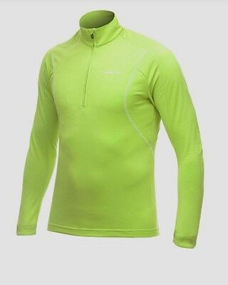 Craft Bike and Run Mens High Visibility Lizard Light Weight Stretch Pullover
