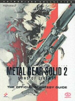 Metal Gear Solid 2: The Official Strategy Guide ... by Martin, Michael Paperback