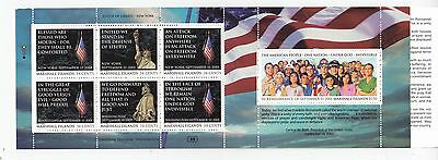 MARSHALL ISLANDS BOOKLET : 2001 World Trade Centre Victims  SG SB28 MNH