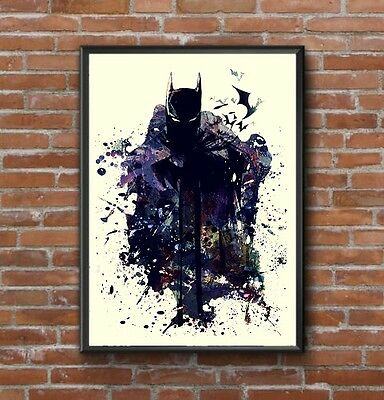 Batman Dark Knight Large Wall Art Picture Poster Print Whole Poster A1