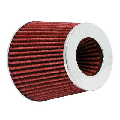 OE Replacement Performance Universal Air Filter Chrome K and N - RG-1001RD K&N