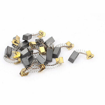 7 Pairs Spring Electric Hammer Motor Carbon Brushes 13mmx6mmx6mm for Makita