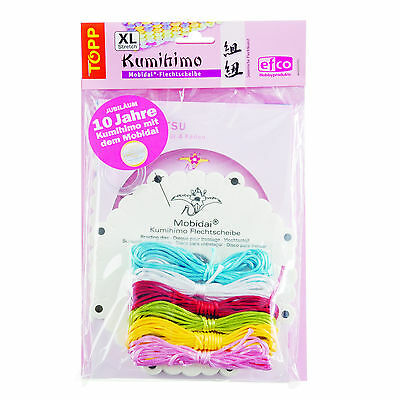 KUMIHIMO JAPANESE 10th. ANNIVERSARY BRAIDING KIT