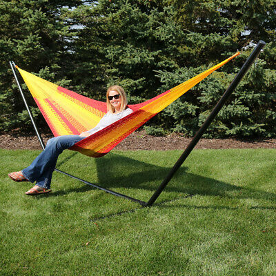 Mayan Hammock, Multi-Colored, Indoor/Outdoor, Woven Traditional - Multiple Sizes