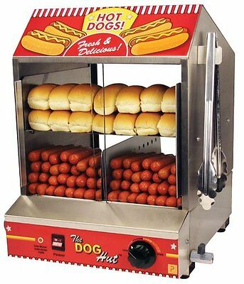 Paragon's The Dog Hut Hot Dog Steamer