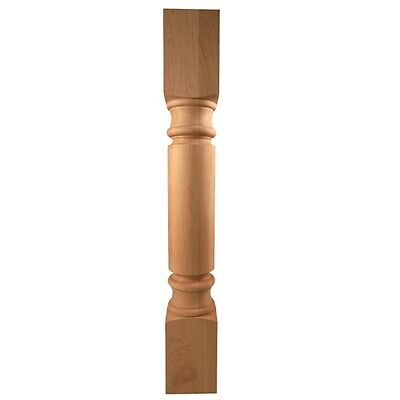 "Alder 35-1/4"" Tall- Tuscan Wood Post- For Cabinet or Island-   POST-G"