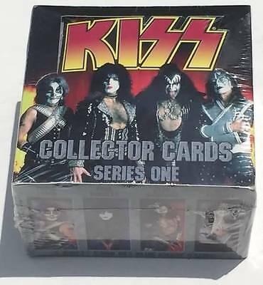 KISS Collector Cards Series One SEALED Box 36 Packs Cornerstone 1997