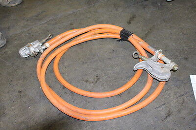 Jumper Cables Grounding Cables Chance  16Ft Rohlinger Salisbury 15Kv