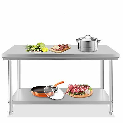 "Stainless Steel Kitchen Work Food Prep Table Restaurant - 24"" x 48"" Pick Up Only"