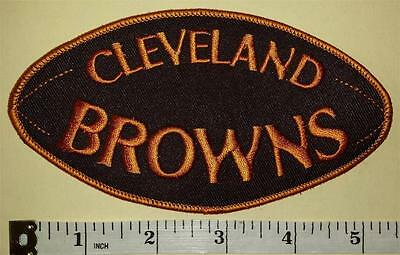 Cleveland Browns Football Shaped Nfl Football Patch