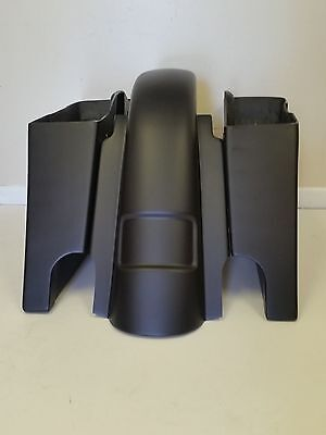 """2007 6"""" Stretched Saddlebags Rear Replacement Fender Dual Cutouts"""