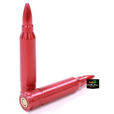 Carlson's .223 Aluminum Spring Loaded Snap Caps 2 Pack Dummy Cartridge