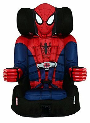 KidsEmbrace Combination BOOSTER CAR SEAT, 5 Point Harness Spiderman CAR SEAT