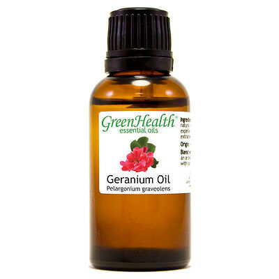 1 fl oz Geranium Essential Oil (100% Pure & Natural) - GreenHealth
