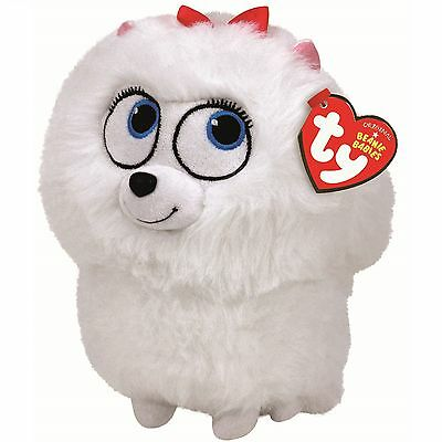 Ty Beanie Babies 41167 Secret Life of Pets Gidget the Pomeranian Dog