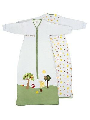 Baby Sleeping Bag with Sleeves Forest Friends Tog 2.5 Size 0-6 - 12-36 months
