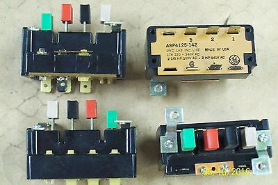 *new* General Electric Ge Asp 4 Push Button Switch Asp4125-142