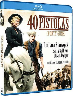 FORTY 40 GUNS  (1957) **Blu Ray B** Barbara Stanwyck