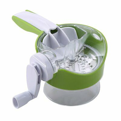 Renberg Cheese Grater with Removeable Handle and 2 Exchangeable Blades RB-4171