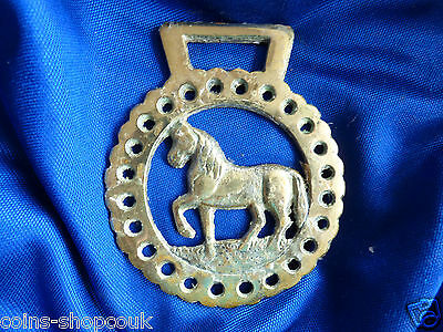 Vintage HORSE BRASS  STEPPING HORSE