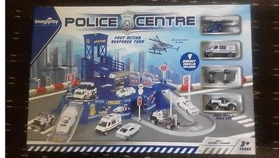 Police centre station or Airport Play sets diecast vehicle included, For 3+